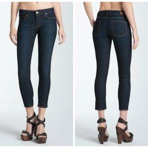 USA Paige Size 29 Kylie Crop Skinny Jeans  Blue
